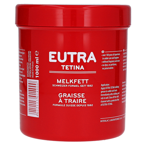 MELKFETT Eutra Tetina vet. 1000 Milliliter
