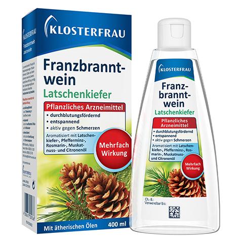 Klosterfrau Franzbranntwein Latschenkiefer 400 Milliliter