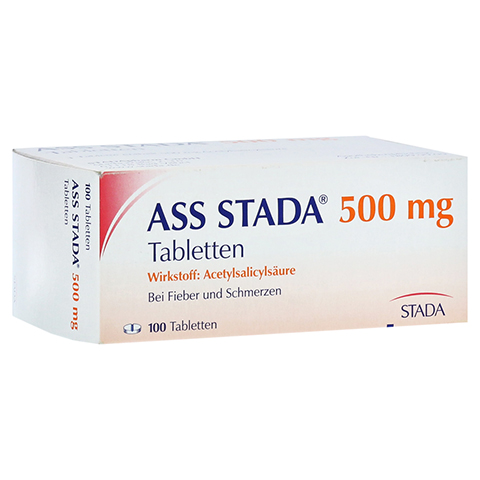 ASS STADA 500mg 100 Stück