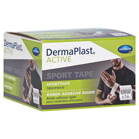 DERMAPLAST Active Sport Tape 3,75 cmx7 m weiß 1 Stück