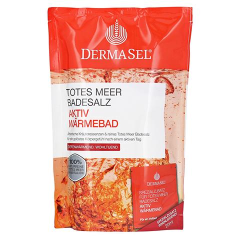 DERMASEL Totes Meer Badesalz+Aktiv Wärme SPA 1 Packung