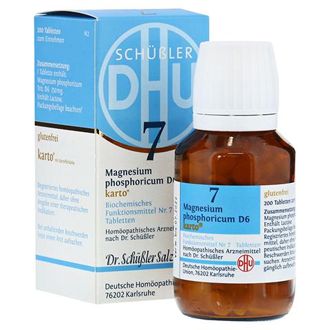 BIOCHEMIE DHU 7 Magnesium phosphoricum D 6 Tab.Ka. 200 Stück N2