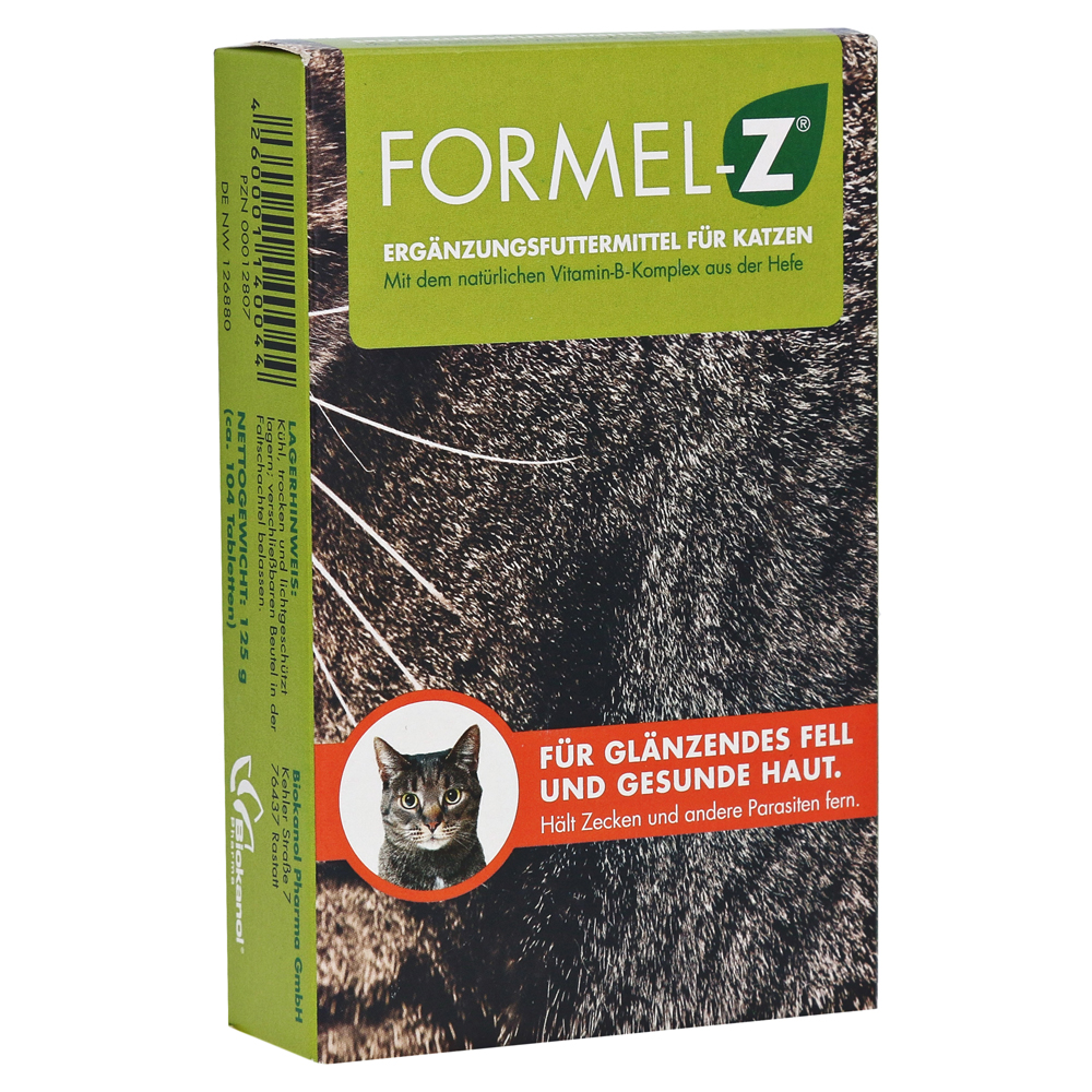 erfahrungen zu formel z tabletten f r katzen 125 gramm. Black Bedroom Furniture Sets. Home Design Ideas