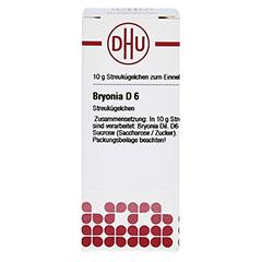 BRYONIA D 6 Globuli 10 Gramm N1 - Vorderseite
