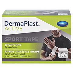 DERMAPLAST Active Sport Tape 3,75 cmx7 m weiß 1 Stück - Vorderseite