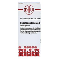 RHUS TOXICODENDRON D 6 Globuli 10 Gramm N1 - Vorderseite