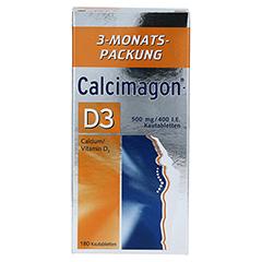 Calcimagon-D3 500mg/400I.E. 180 Stück - Vorderseite