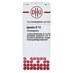 IGNATIA D 12 Globuli 10 Gramm N1 - Vorderseite