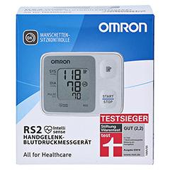 OMRON RS2 Handgelenk Blutdruckmessgerät vollautom. 1 Stück - Vorderseite