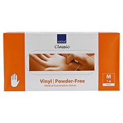 VINYL Handschuhe puderfrei medium 100 Stück - Vorderseite