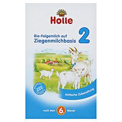 HOLLE Bio Folgemilch 2 auf Ziegenmilchbasis Pulver 400 Gramm - Vorderseite