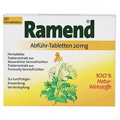 Ramend Abführ-Tabletten 20mg 20 Stück - Vorderseite