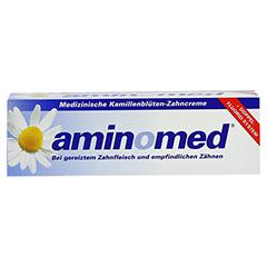 AMIN O MED Fluorid Kamille Zahnpasta 75 Milliliter - Vorderseite