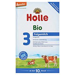 HOLLE Bio Säuglings Folgemilch 3 600 Gramm - Vorderseite