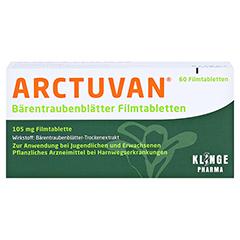 ARCTUVAN Bärentraubenblätter 60 Stück N1 - Vorderseite
