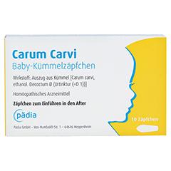 CARUM CARVI Baby-Kümmelzäpfchen 10 Stück N1 - Vorderseite
