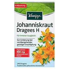 KNEIPP Johanniskraut Dragees H 240 Stück - Vorderseite