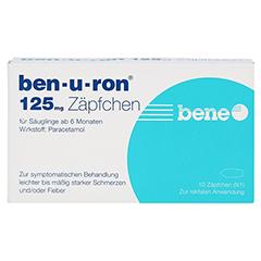 Ben-u-ron 125mg 10 Stück N1 - Vorderseite