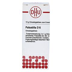 PULSATILLA D 6 Globuli 10 Gramm N1 - Vorderseite