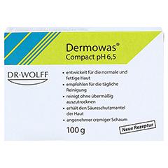 DERMOWAS compact Seife 100 Gramm - Vorderseite