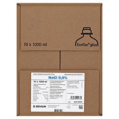 ISOTONE Kochsalz-Lösung 0,9% Braun Ecoflac Plus 10x1000 Milliliter N2 - Vorderseite