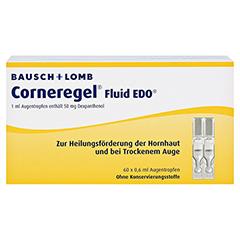 Corneregel Fluid EDO Augentropfen 60x0.6 Milliliter N2 - Vorderseite