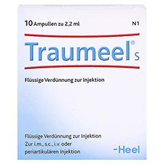 TRAUMEEL S Ampullen 10 Stück N1 - Vorderseite