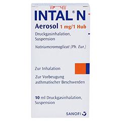 Intal N Aerosol 1mg/Hub 10 Milliliter N1 - Vorderseite