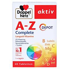 DOPPELHERZ A-Z Depot Tabletten 40 Stück - Vorderseite