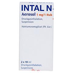 Intal N Aerosol 1mg/Hub 2x10 Milliliter N2 - Vorderseite