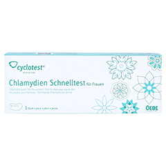 CYCLOTEST Chlamydien-Schnelltest 1 Stück - Vorderseite