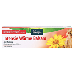 KNEIPP Intensiv Wärme Balsam mit Arnika 100 Milliliter - Vorderseite