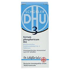 BIOCHEMIE DHU 3 Ferrum phosphoricum D 12 Tabletten 80 Stück N1 - Vorderseite