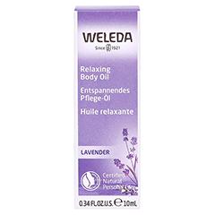 WELEDA Lavendel Entspannungsöl 10 Milliliter - Vorderseite