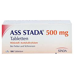 ASS STADA 500mg 100 Stück - Vorderseite
