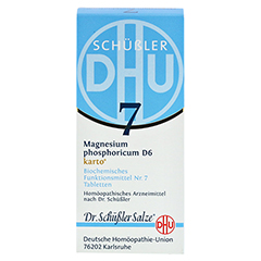 BIOCHEMIE DHU 7 Magnesium phosphoricum D 6 Tab.Ka. 200 Stück N2 - Vorderseite