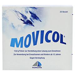 Movicol Beutel 20 Stück - Vorderseite
