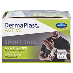 DERMAPLAST Active Sport Tape 3,75 cmx7 m weiß 1 Stück - Linke Seite
