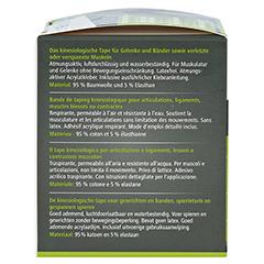 DERMAPLAST Active Kinesiology Tape 5 cmx5 m pink 1 Stück - Linke Seite