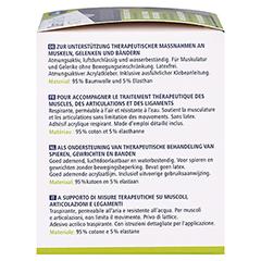 DERMAPLAST Active Kinesiology Tape 5 cmx5 m beige 1 Stück - Linke Seite