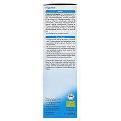 HOLLE Bio Folgemilch 2 auf Ziegenmilchbasis Pulver 400 Gramm - Linke Seite