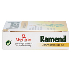 Ramend Abführ-Tabletten 20mg 20 Stück - Linke Seite
