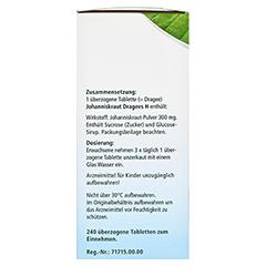 KNEIPP Johanniskraut Dragees H 240 Stück - Linke Seite