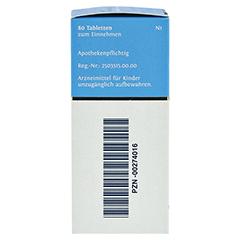 BIOCHEMIE DHU 3 Ferrum phosphoricum D 12 Tabletten 80 Stück N1 - Linke Seite