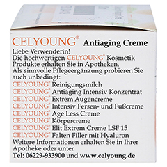 CELYOUNG Antiaging Creme 100 Milliliter - Linke Seite