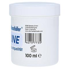 Alter Heideschäfer Vaseline Weiss DAB-Qualität 100 Milliliter - Linke Seite