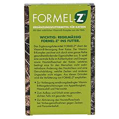 FORMEL Z Tabletten für Katzen 125 Gramm - Rückseite