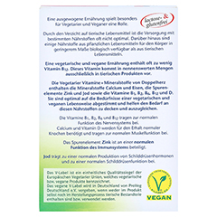 DOPPELHERZ Vegetarier Vitamine+Mineralstoffe Tabl. 30 Stück - Rückseite