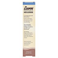 LUVOS Gesichtsfluid Basispflege aufbauend 50 Milliliter - Rückseite