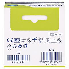 DERMAPLAST Active Kinesiology Tape 5 cmx5 m beige 1 Stück - Rückseite